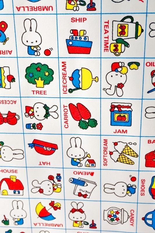 画像3 昭和レトロ包装紙 昔の包装紙 可愛いウサギのキャラクター ミッフィー